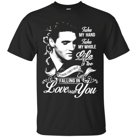 Elvis - Take My Hand Take My Whole Life G200 Cotton T-Shirt