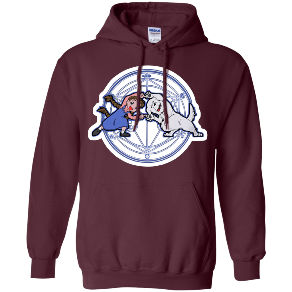 Fullmetal Fusion Ha! AT0044 G185 Pullover Hoodie 8 oz.
