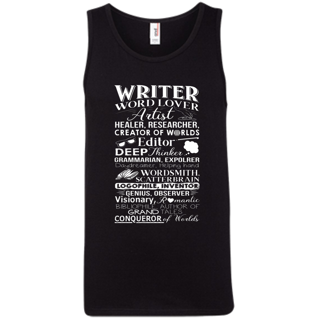 Writer Title Definition Meaning Author English Teacher AT0095 100% Ringspun Cotton Tank Top