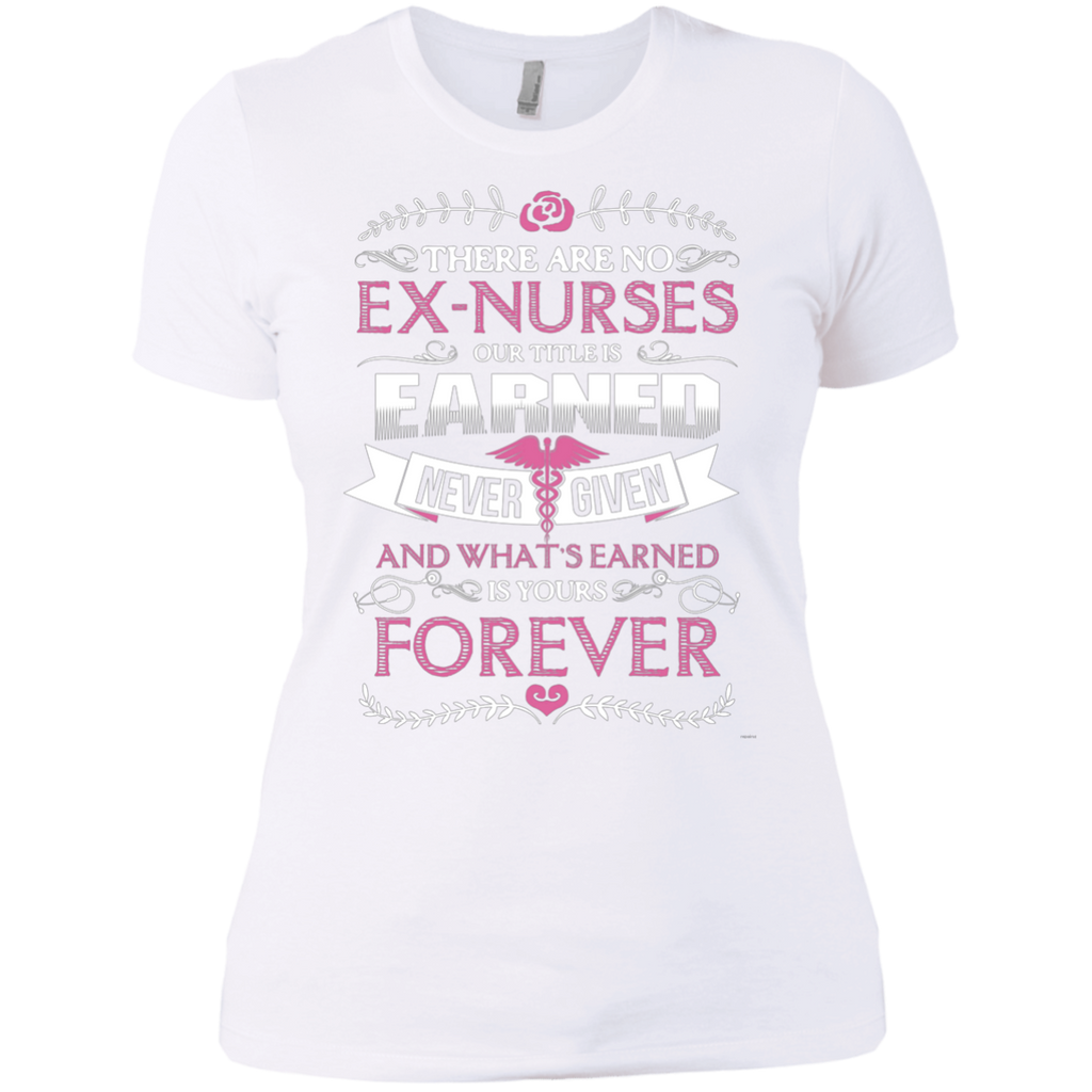 Nurse Forever AT0122 NL3900 Ladies' Boyfriend T-Shirt