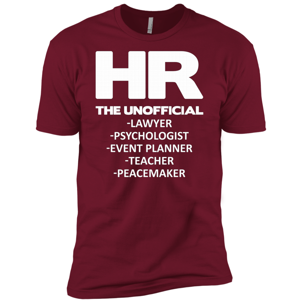 HR THE UNOFFICIAL LAWYER TEACHER AT0066 NL3600 Premium Short Sleeve T-Shirt - OwlCube - Canvas Wall Art