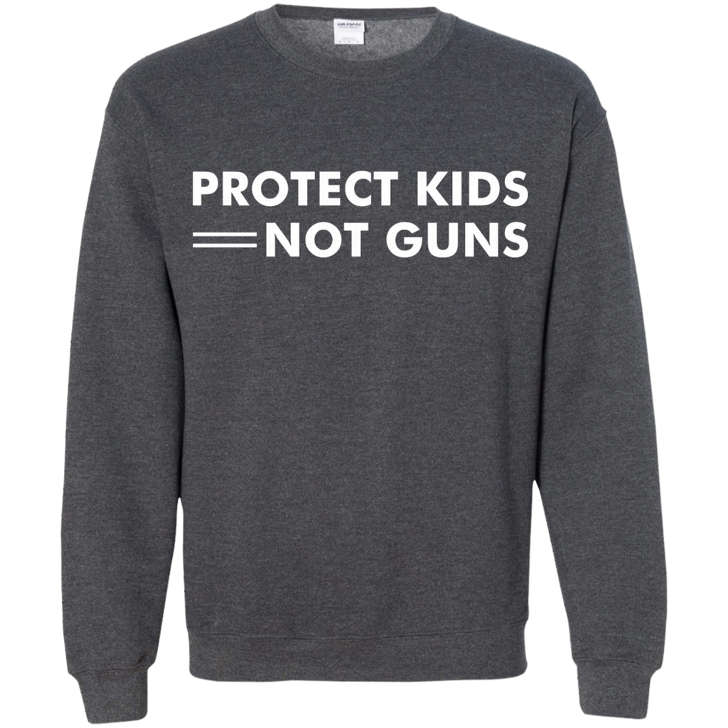 Protect Kids Not Guns AT0092 G180 Crewneck Pullover Sweatshirt  8 oz.