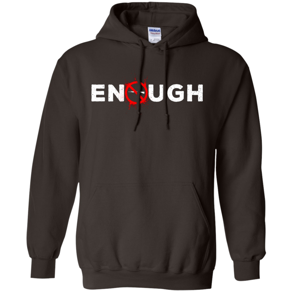ENOUGH Anti-Gun AT0058 G185 Pullover Hoodie 8 oz. - OwlCube - Diamond Painting by Numbers