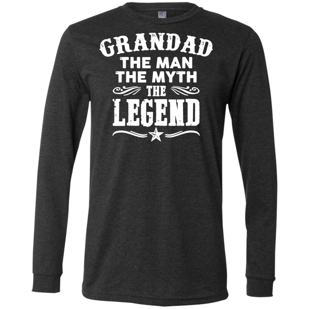 Grandad The Man The Myth The Legend AT0062 3501 Men's Jersey LS T-Shirt