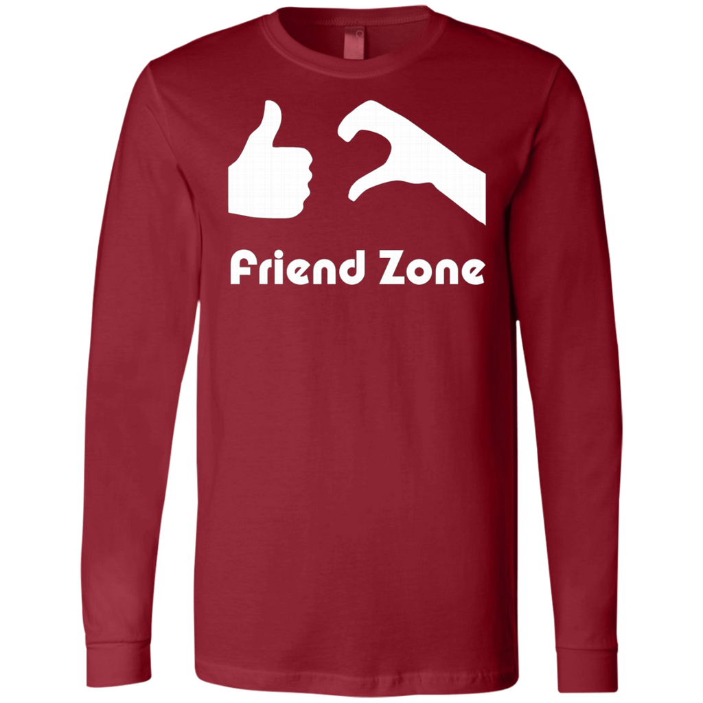 Friend Zone AT0060 3501 Men's Jersey LS T-Shirt - OwlCube - Diamond Painting by Numbers