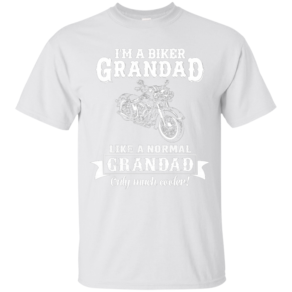 Biker Grandad , Like normal Grandad , Only Cooler AT0132 G200 Ultra Cotton T-Shirt - OwlCube - Diamond Painting by Numbers