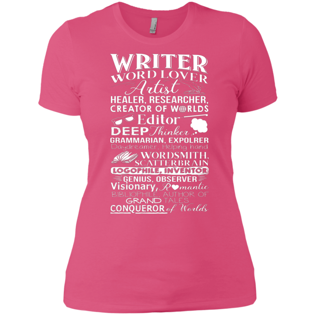 Writer Title Definition Meaning Author English Teacher AT0095 NL3900 Ladies' Boyfriend T-Shirt