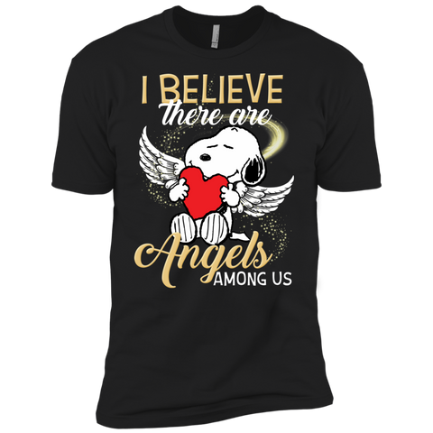 Snoopy Angels NL3600 Premium Short Sleeve T-Shirt