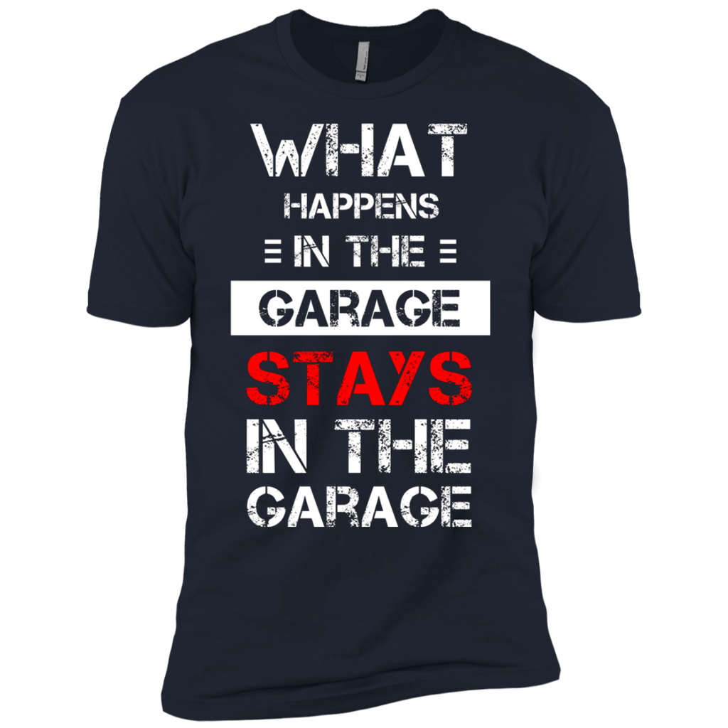 Mechanic T-Shirt - What happens stays in the Garage AT0089 NL3600 Premium Short Sleeve T-Shirt