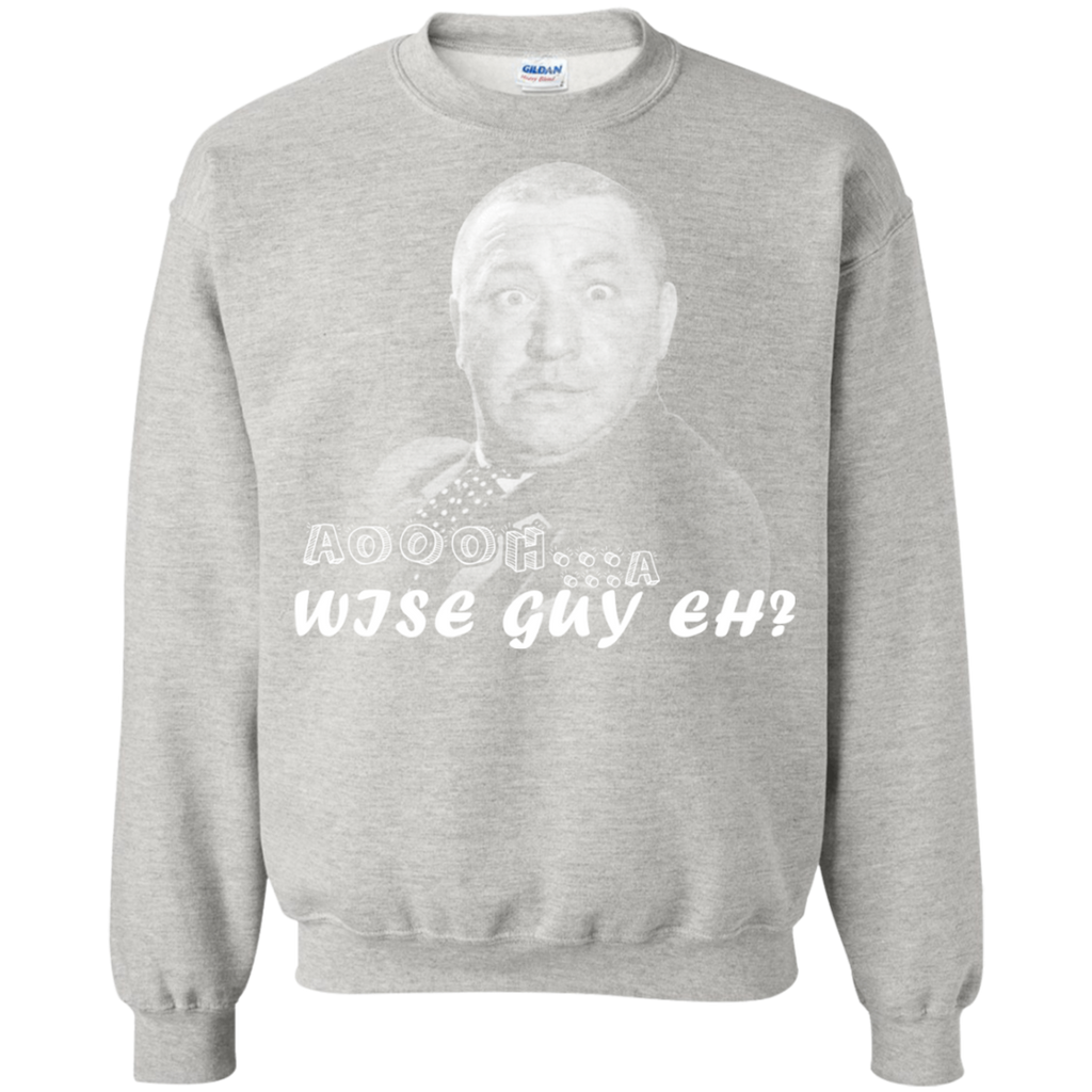 The Three Stooges G180 Crewneck Pullover Sweatshirt  8 oz.