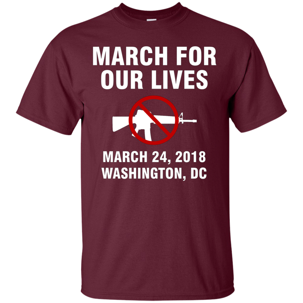 March For Our Lives Washington DC March 24 2018 End Gun Violence AT0088 G200 Cotton T-Shirt