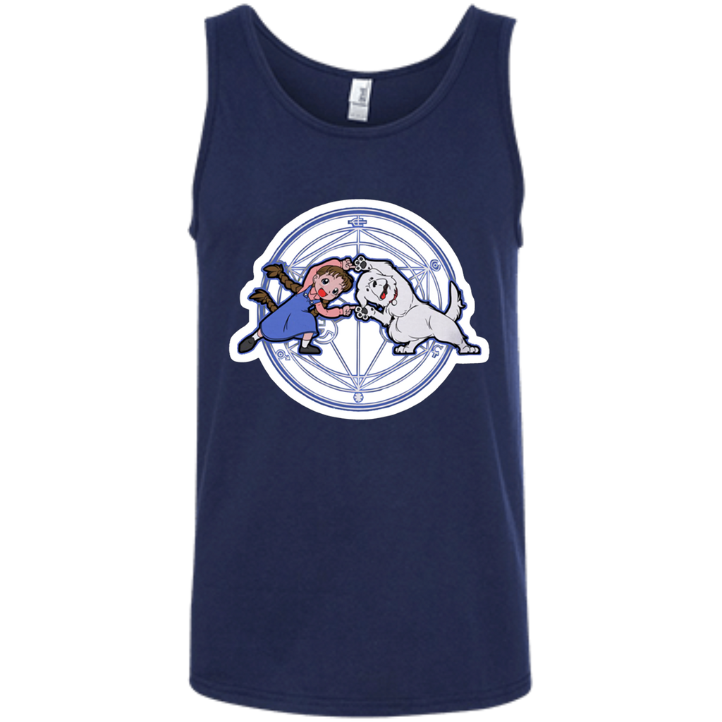 Fullmetal Fusion Ha! AT0044 100% Ringspun Cotton Tank Top - OwlCube - Diamond Painting by Numbers