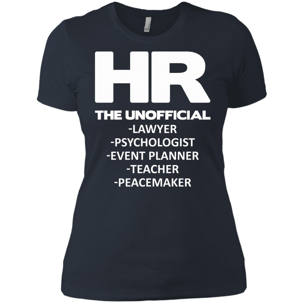 HR THE UNOFFICIAL LAWYER TEACHER AT0066 NL3900 Ladies' Boyfriend T-Shirt