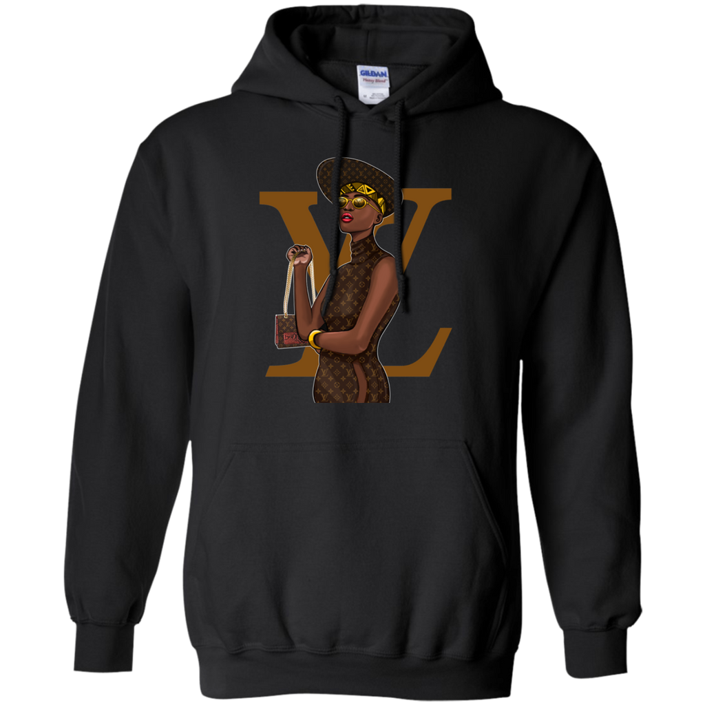 Black Louis Vuitton 2 G185 Pullover Hoodie 8 oz. - OwlCube - Diamond Painting by Numbers