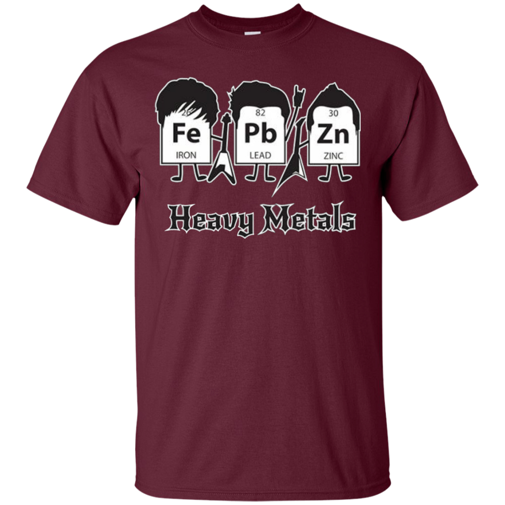 AT0012 Heavy Metals Periodic Table G200 Cotton T-Shirt - OwlCube - Diamond Painting by Numbers
