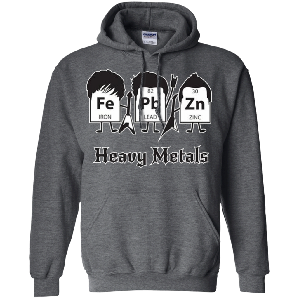 AT0012 Heavy Metals Periodic Table G185 Pullover Hoodie 8 oz. - OwlCube - Diamond Painting by Numbers
