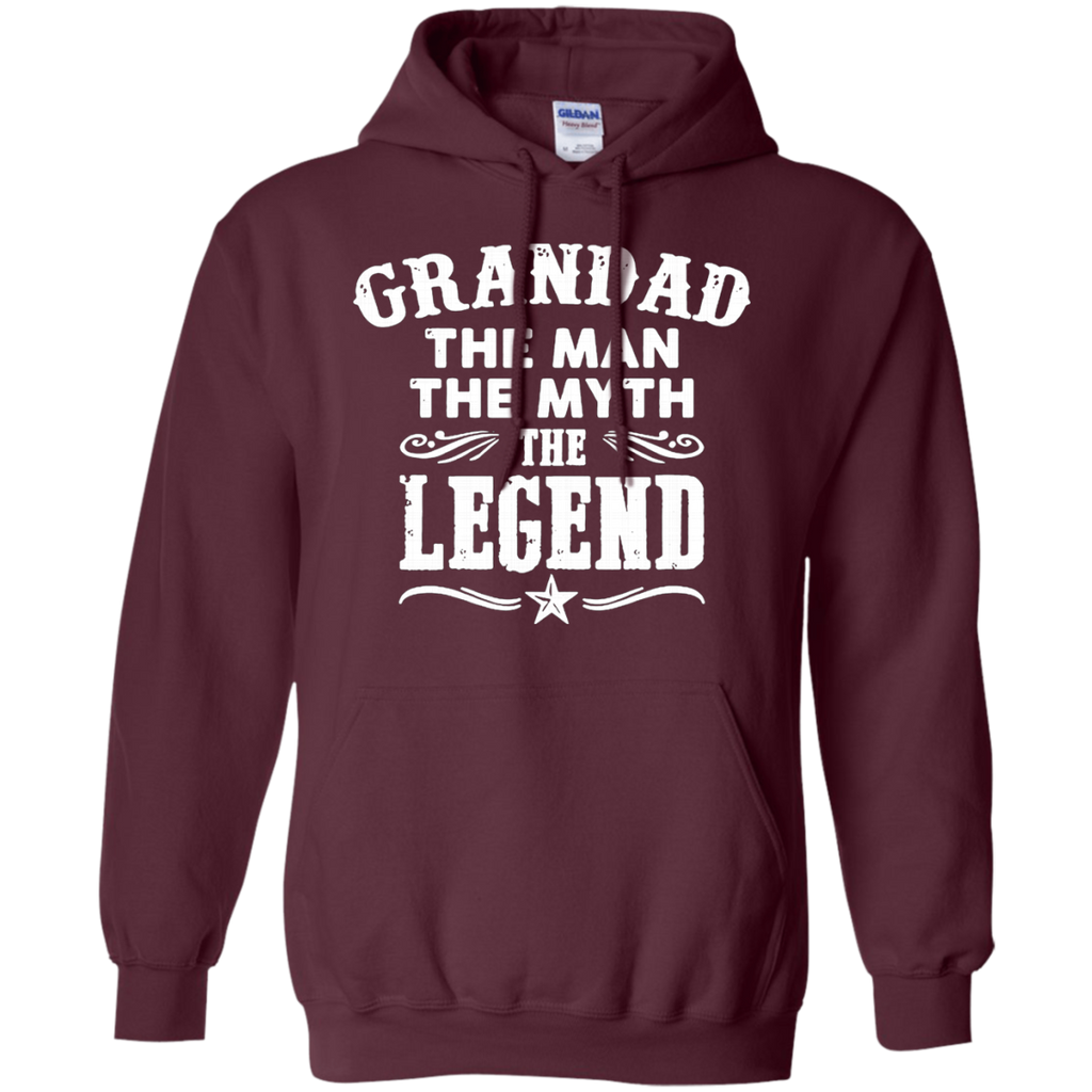 Grandad The Man The Myth The Legend AT0062 G185 Pullover Hoodie 8 oz.