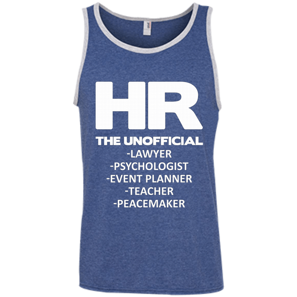 HR THE UNOFFICIAL LAWYER TEACHER AT0066 100% Ringspun Cotton Tank Top - OwlCube - Canvas Wall Art