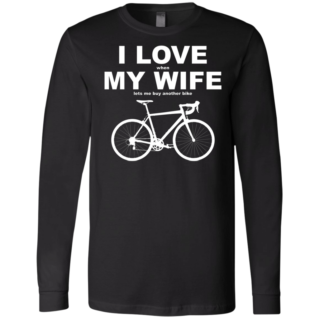 I LOVE MY WIFE AT0070 3501 Men's Jersey LS T-Shirt