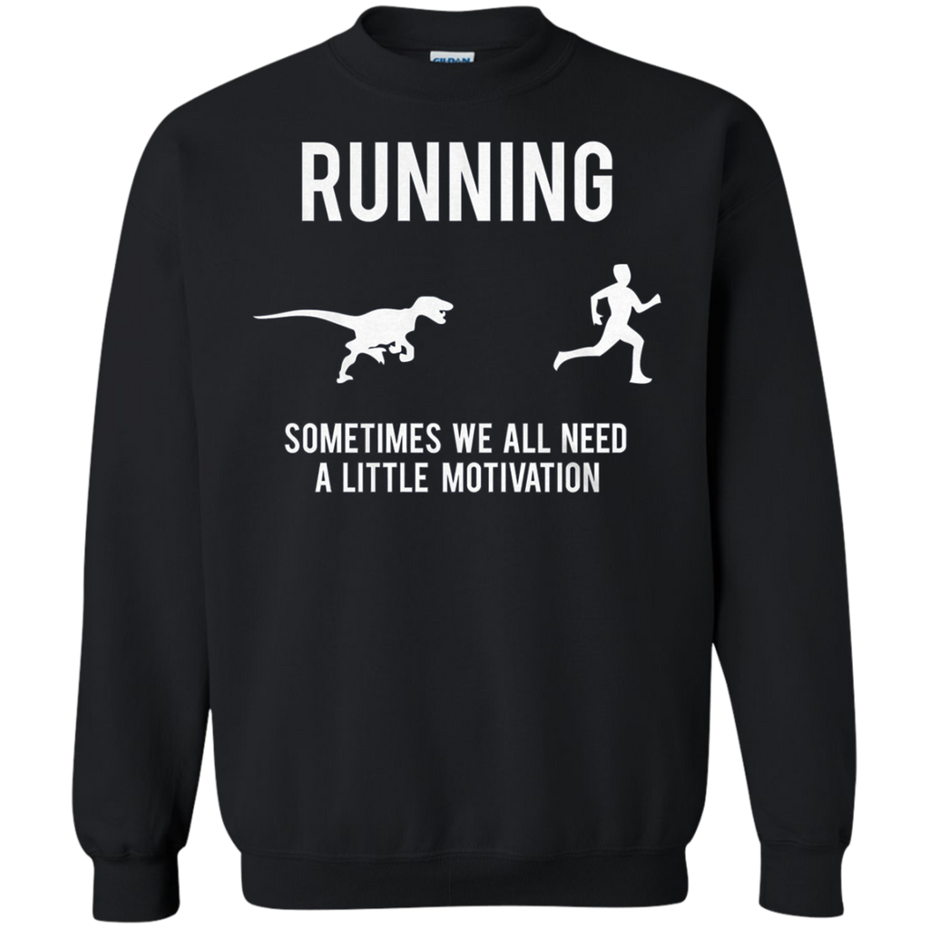 AT0024 Mens Running Motivation Raptor Chase G180 Crewneck Pullover Sweatshirt  8 oz. - OwlCube - Diamond Painting by Numbers