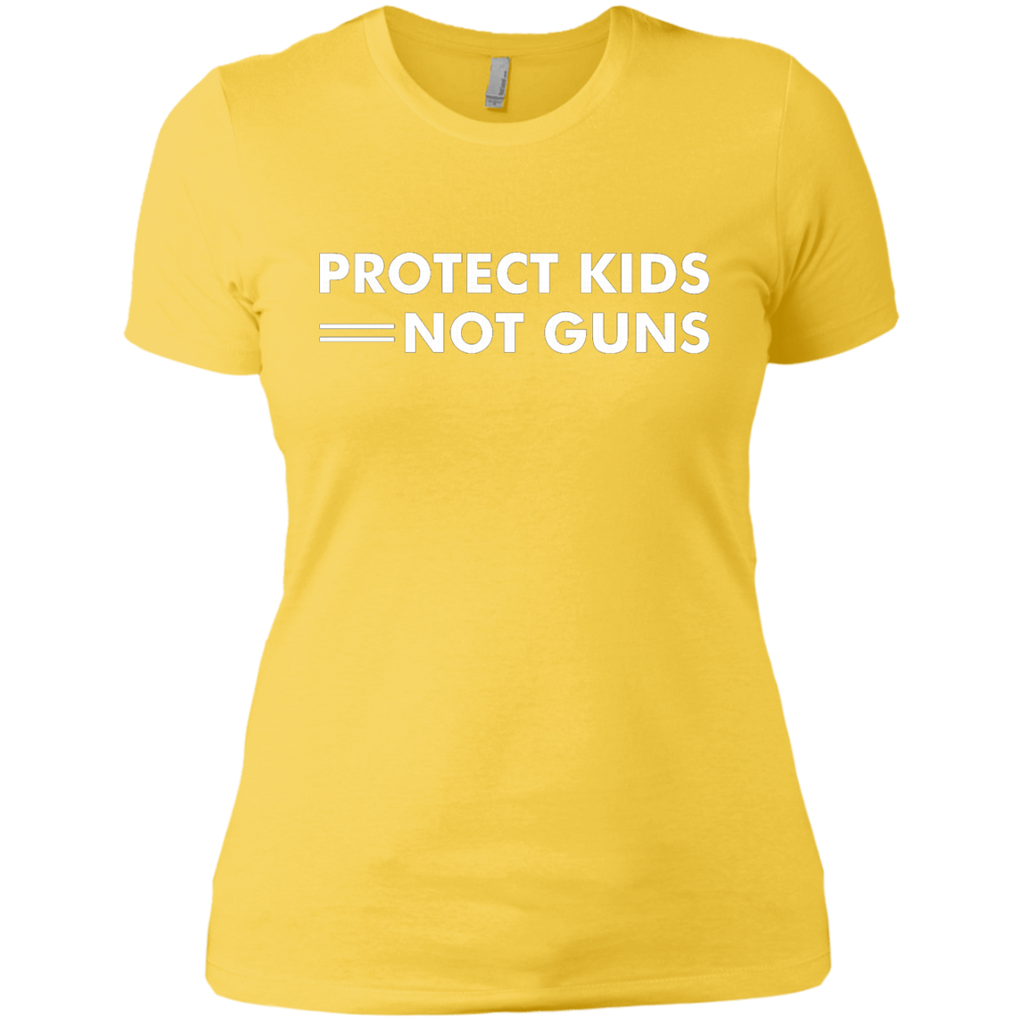 Protect Kids Not Guns AT0092 NL3900 Ladies' Boyfriend T-Shirt