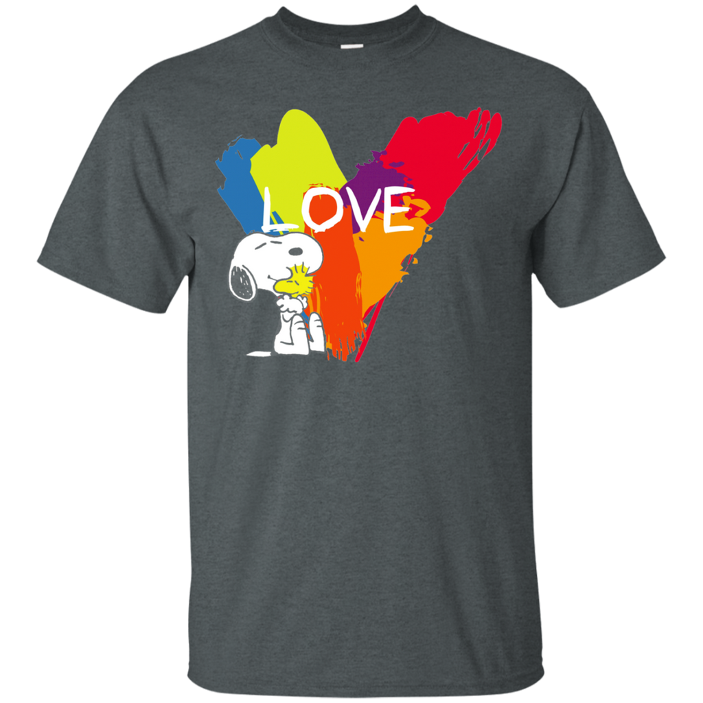 Snoopy Love G200 Cotton T-Shirt