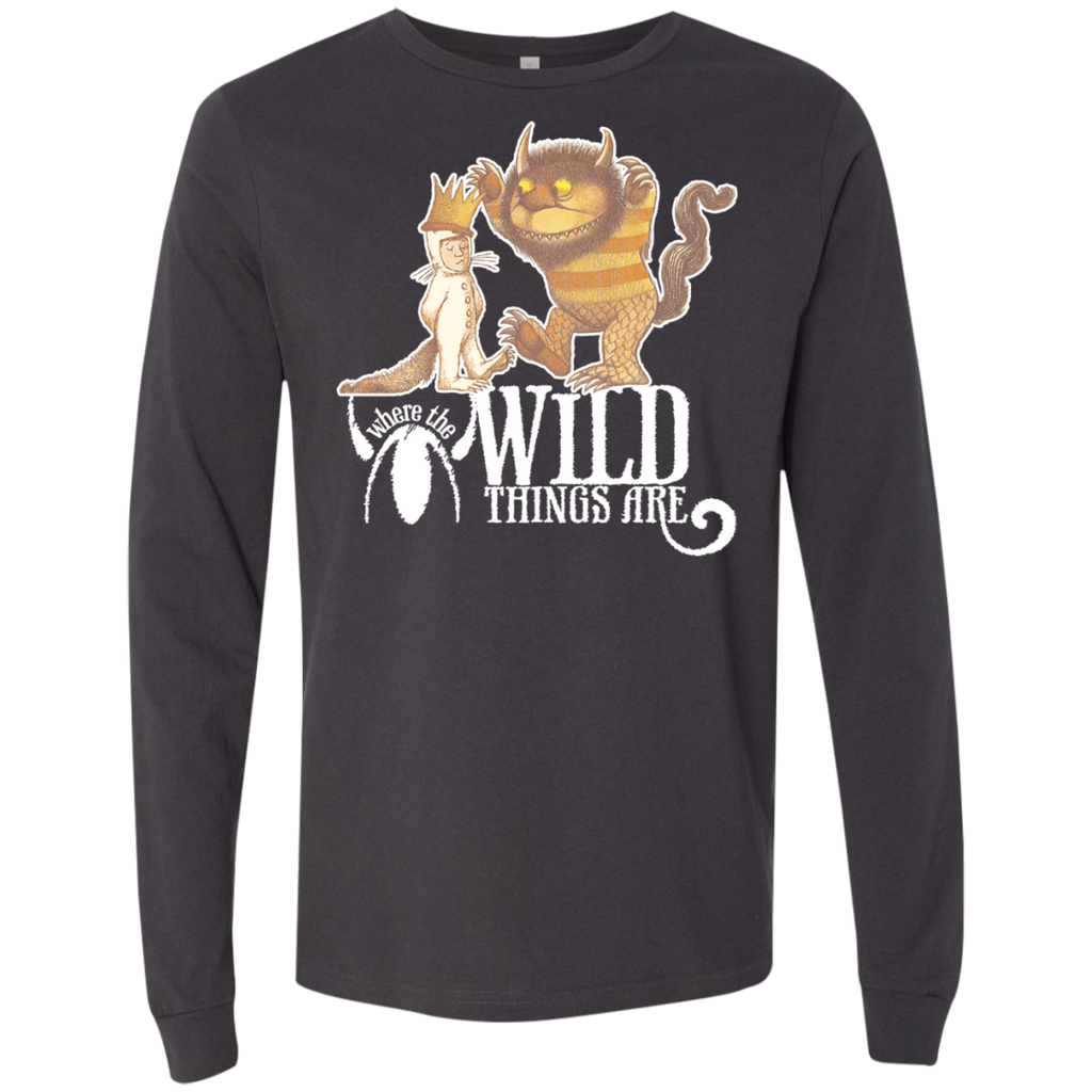 Where The Wild Things Are 1 3501 Men's Jersey LS T-Shirt