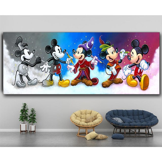 "Full Square/Round Drill 5D DIY Diamond Painting ""Mouse Cartoon Animal Art"" 3D Embroidery Cross Stitch Mosaic Home Decor"