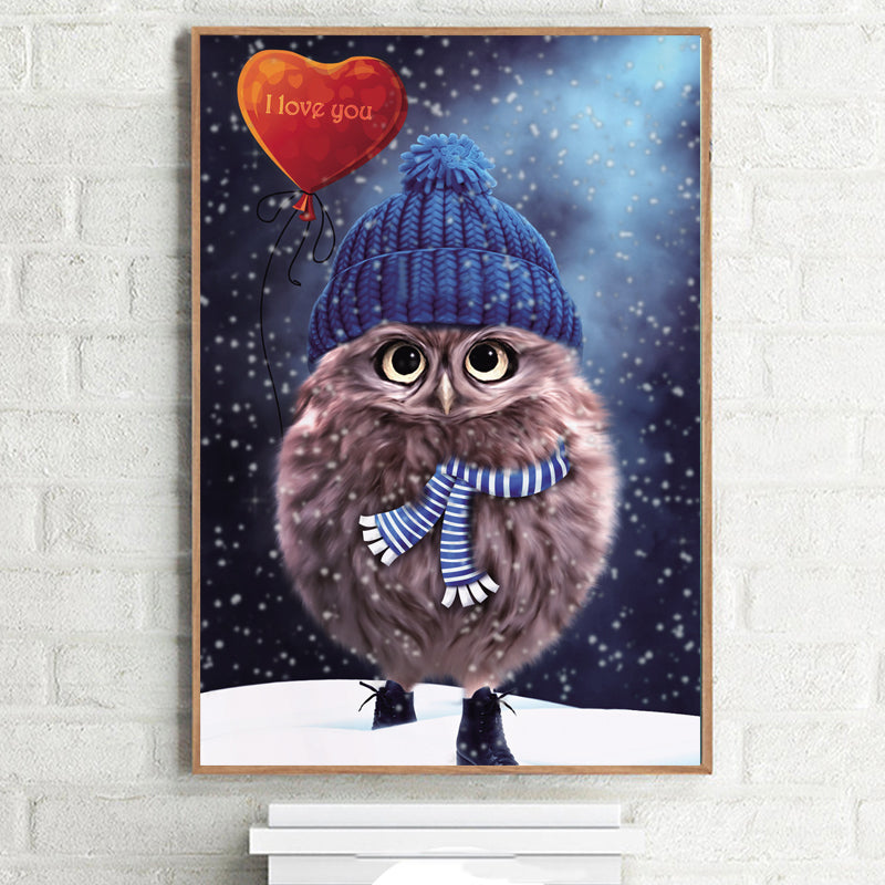 Give Today Your Owl - Easy 3D DIY Diamond Painting Kits - OwlCube Canvas Wall Art - OwlCube - Canvas Wall Art