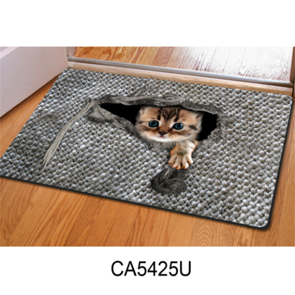Artists Like Cats, Soldiers Like Dogs - OwlCube 3D DoorMats - OwlCube - Diamond Painting by Numbers