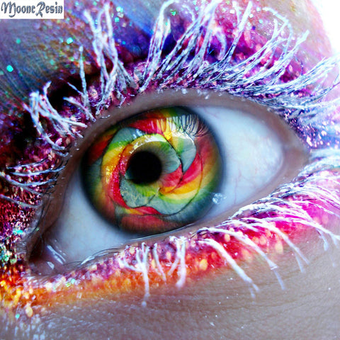 The Eye is the Mirror of the Soul - Easy Diamond Painting Kit