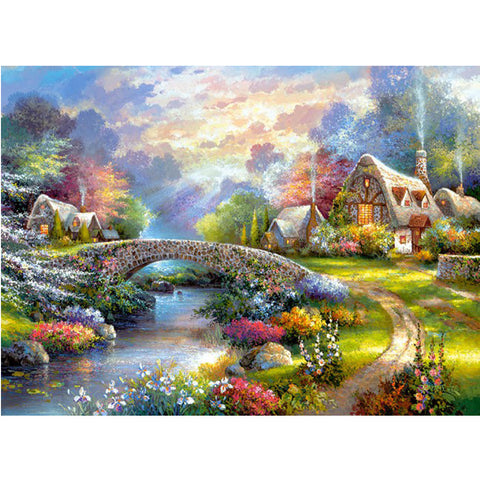 The Fairy World is Full of Magic Thing- Easy Diamond Painting Kit
