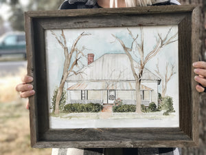Custom Home Portrait