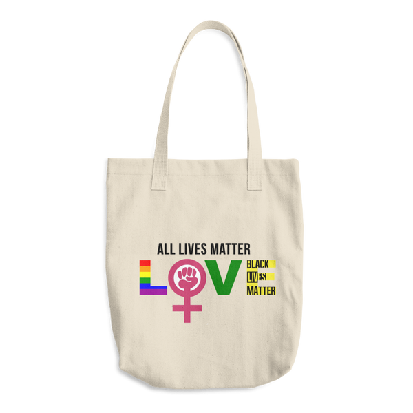 """Love"" Cotton Tote Bag"