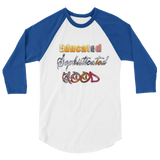 """Hood"" Mens' 3/4 sleeve raglan shirt"
