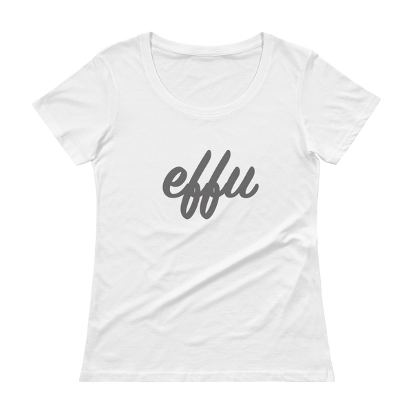 """Effu"" Ladies' Scoopneck T-Shirt"