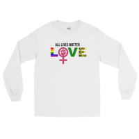 """Love"" Mens' Long Sleeve T-Shirt"