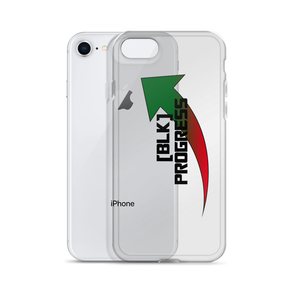 """Black Progress"" iPhone Cases"