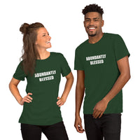 """Abundantly Blessed"" Short-Sleeve Unisex T-Shirt"