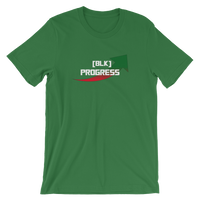 """Black Progress"" Mens' Short-Sleeve T-Shirt"
