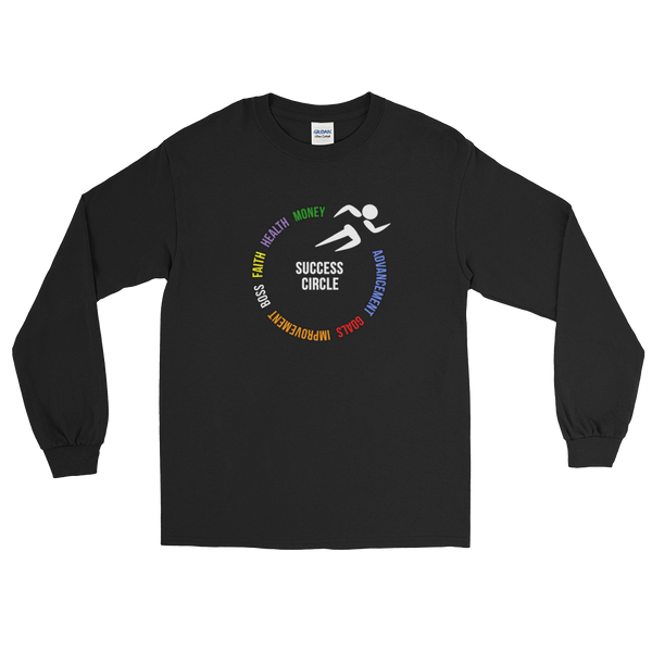 """Success"" Mens' Long Sleeve T-Shirt"