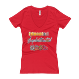 """Hood"" Ladies' V-Neck T-shirt"