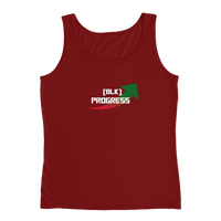 """Black Progress"" Ladies' Tank"