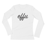 """Effu"" Ladies' Long Sleeve T-Shirt"