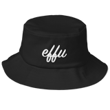 """Effu"" Old School Bucket Hat"