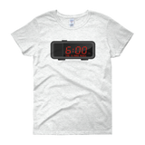 """Time"" Ladies' T-shirt"
