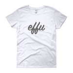 """Effu"" Ladies' Short Sleeve T-shirt"