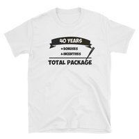 """ Total Package"" Mens' Short-Sleeve T-Shirt"