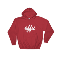 """Effu"" Mens' Hooded Sweatshirt"