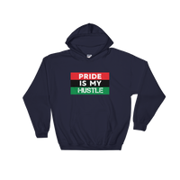 """Pride is my Hustle"" Mens' Hooded Sweatshirt"